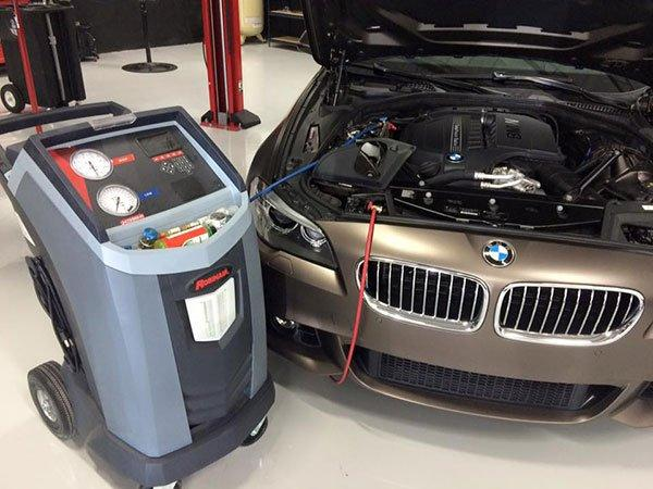 Air Conditioning Service for luxury and exotic cars
