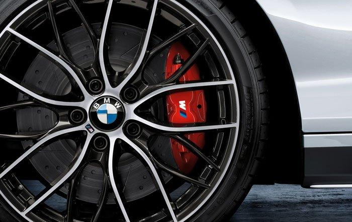 BMW Brake Caliper Painting