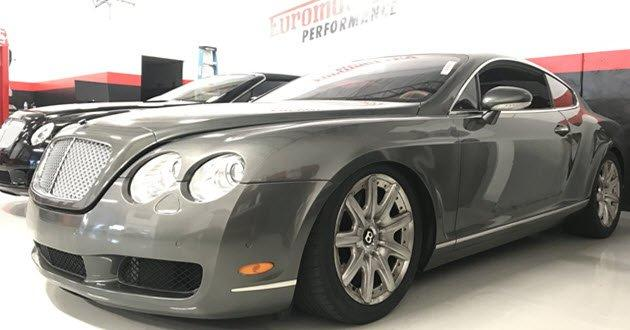 bentley continental gt repair